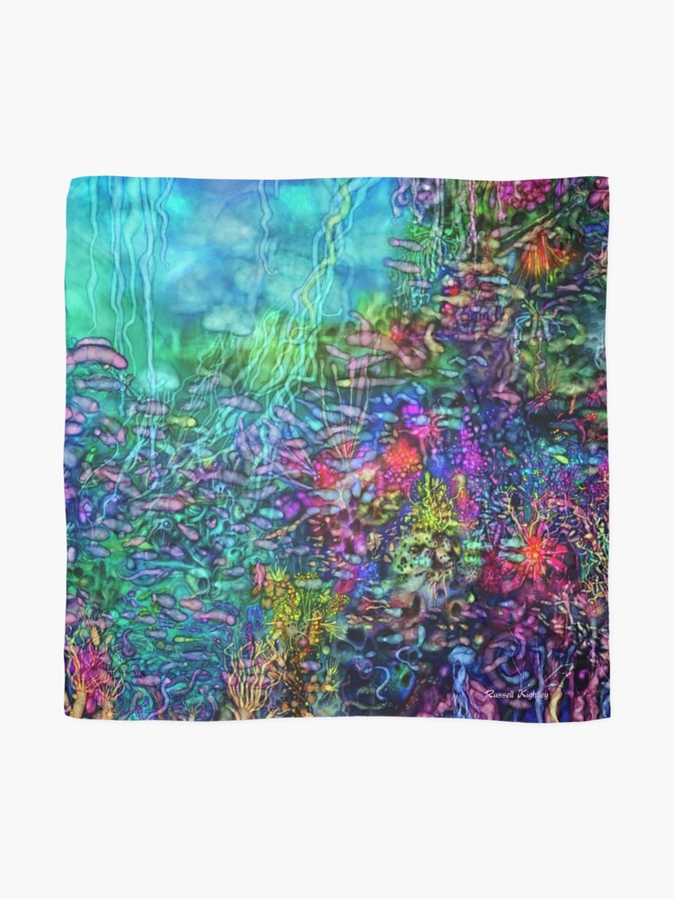Alternate view of Qualia's Reef Right Scarf