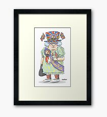 Royal Watcher Framed Print