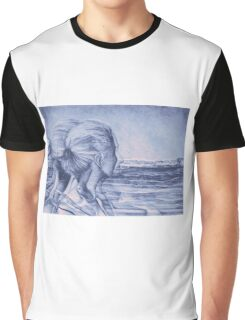 Lost In The Wind, 2016, 50-70 cm, graphite crayon on paper Graphic T-Shirt