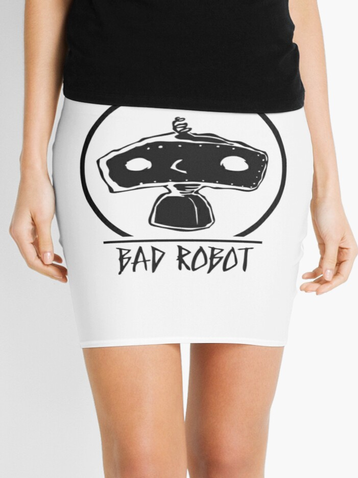 Bad Robot Logo Mini Skirt By Ragodzbehindz12 Redbubble