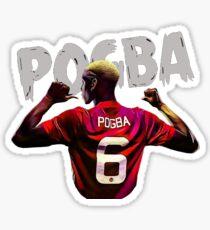 Pogba Dab Celebration Stickers Redbubble