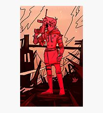 Red Leader  Photographic Print