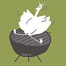 grill'd goose by Ann Leung