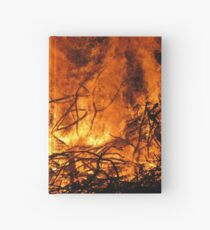 Fire Hardcover Journal