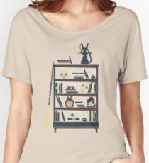 Ghibli shelf Women's Relaxed Fit T-Shirt