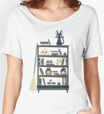 Ghibli shelf Women's Relaxed Fit T-Shirt