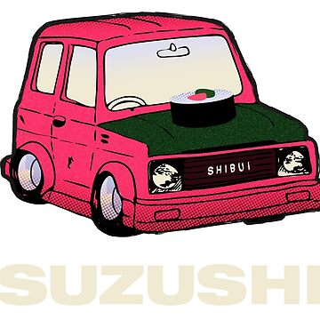 SUZUKI + SUSHI = SUZUSHI! by shibui