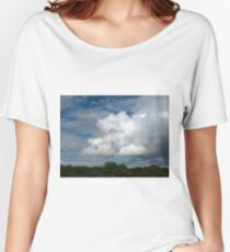 Cumulus Clouds Women's Relaxed Fit T-Shirt