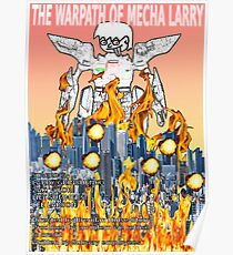The Warpath of Mecha Larry Poster