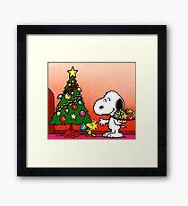 SNOOPY CHRISTMAS 1 Framed Print