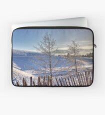 Glentress In Winter Laptop Sleeve