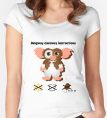 Camiseta entallada de cuello redondo Mogway careway