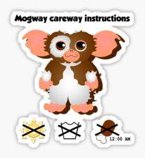 Mogway careway Sticker