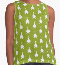 I honk therefore I am - #green Contrast Tank
