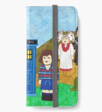 6th Doctor and his companion Peri iPhone Wallet/Case/Skin