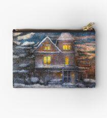 Winter - Clinton, NJ - A Victorian Christmas  Studio Pouch