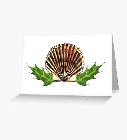 Holiday Scallop Greeting Card