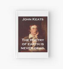 The Poetry Of Earth - John Keats Hardcover Journal