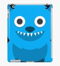 Blue Monster geek art iPad Case/Skin