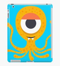 Cute Octopus geek art iPad Case/Skin