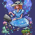 Watrina The Watering Cans, Tools & Paths Fairy by TeelieTurner