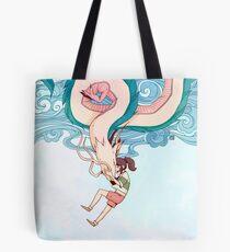 Haku & Chihiro Tote Bag