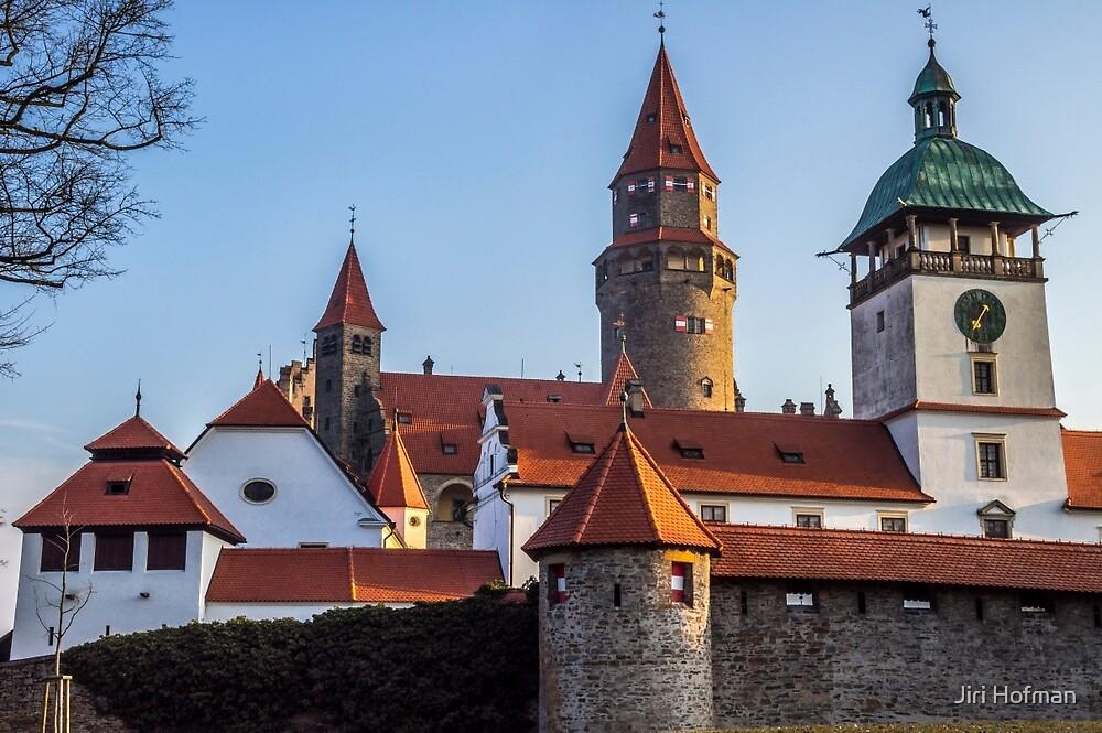 Bouzov Castle by Jiri Hofman
