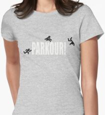 Parkour! Women's Fitted T-Shirt