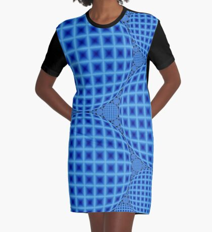 Apollonian Gasket 009 Graphic T-Shirt Dress
