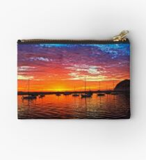 Sailboats At Sunset Studio Pouch