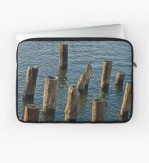 Near the Dock of the Bay Laptop Sleeve
