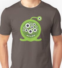 Green Monster Geek art Unisex T-Shirt