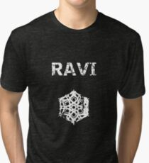 Ravi - Chained up Tri-blend T-Shirt