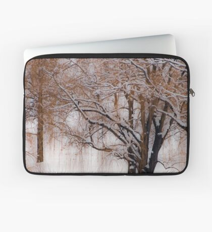 Winter Waits for You Laptop Sleeve