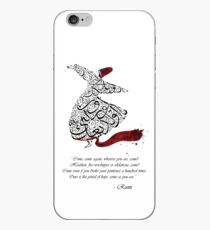 Rumi Quotes Calligraphy Vertical iPhone Case
