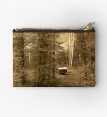 Memories of seasons past (bw) Studio Pouch