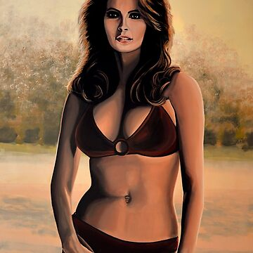Raquel Welch Painting 2 by PaulMeijering