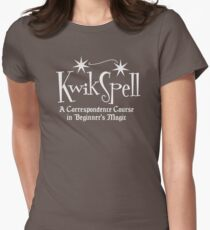 Kwikspell art Women's Fitted T-Shirt