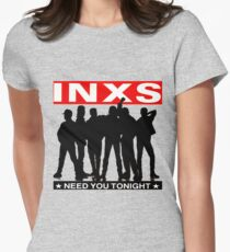 INXS Women's Fitted T-Shirt