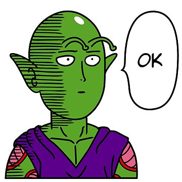 One Punch Piccolo by PlatinumBastard