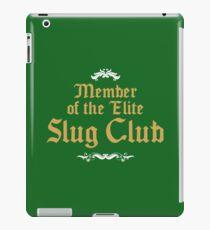 Slug Club Member logo iPad Case/Skin