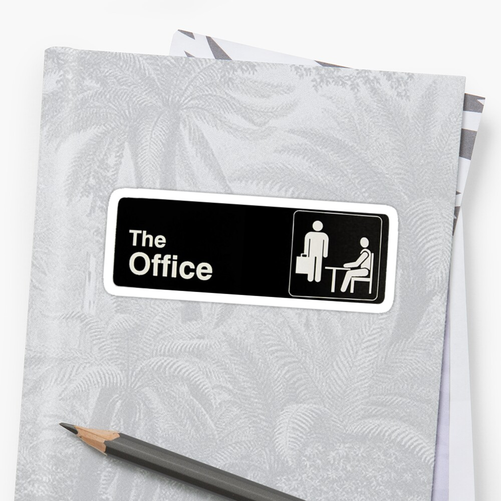 Quot The Office Quot Sticker By Laurenpunales Redbubble