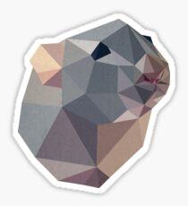 geometric advice Sticker