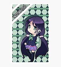 card reader anime chibi Photographic Print