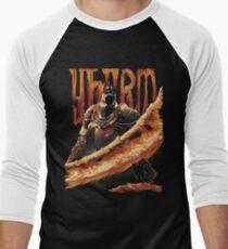 Camiseta ¾ bicolor para hombre Yhorm the Giant