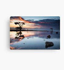 Cleveland Point Sunset  Canvas Print