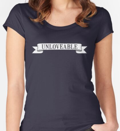 Unloveable Women's Fitted Scoop T-Shirt
