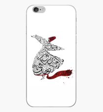 Rumi Calligraphy Red iPhone Case