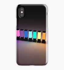 Rainbow Lamps iPhone Case/Skin