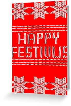 Happy festivus greeting cards by gnarlynicole redbubble happy festivus by gnarlynicole m4hsunfo